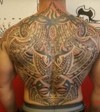 Awesome Tattoo Full Back Design For Men