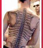 Amazing Tattoos For Men On Back Bone