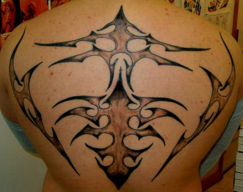 Tribal Tattoos On Back For Men
