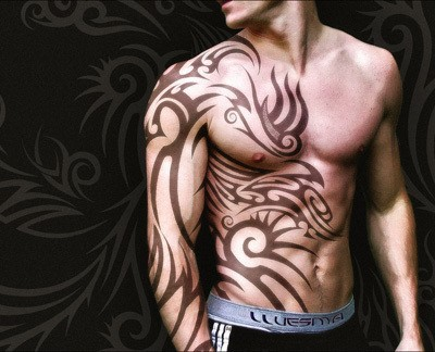 New Design Tribal Tattoos For Men