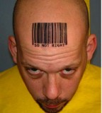 Barcode Head Tattoo Meaning Ideas
