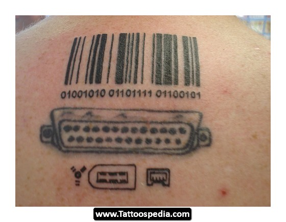 Chic Barcode Tattoos Meaning