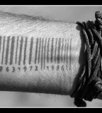 Exotic and Sexy Barcode Tattoo Meaning Design