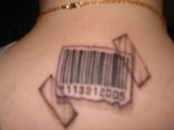 Awesome and Chic Barcode Tattoo Meaning and Design