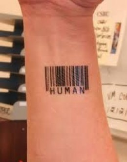 Hand Barcode Tattoo Designs and Meanings Ideas Picture