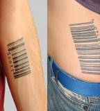 Chic and Cool Barcode Tattoo Meaning for Men and Women