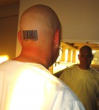 Awesome Head Barcode Tattoo Meaning