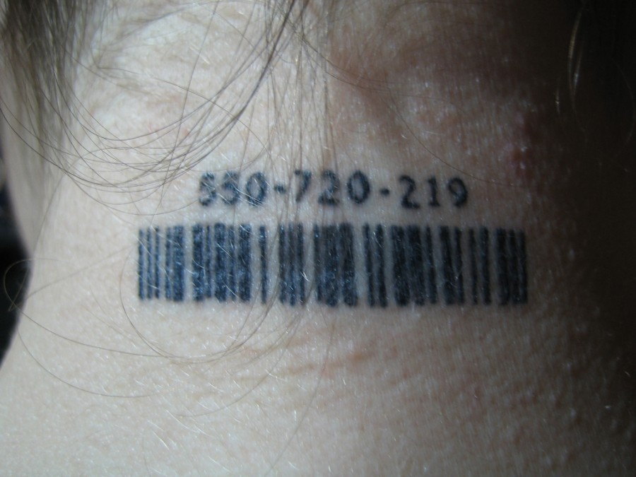 Barcode Tattoos Consumerism and Data Tattoo Meaning
