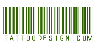 Cool Barcode Tattoos Design and Print Scannable Barcode