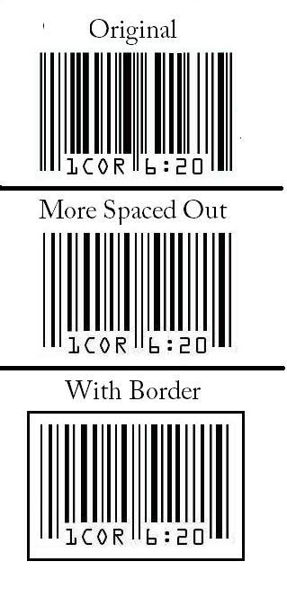 Awesome Barcode Tattoo Design for Boy and Girl