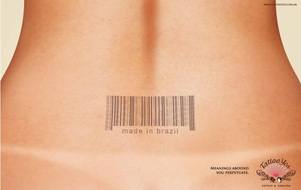 Sexy Barcode Tattoo Meaning for Women (NSFW)