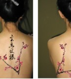 Blossom Tattoo Chinese Japanese Flower Designs Seductive Ideas