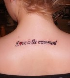 Beauty Love Tattoos Feminine Tattoo Designs