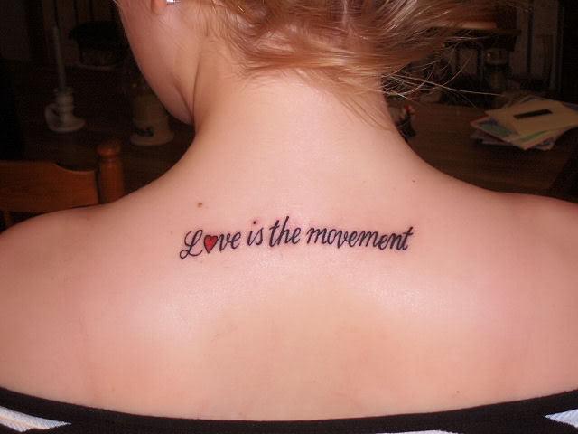 Beauty Love Tattoos Feminine Tattoo Designs
