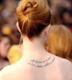 Tattoo Art Body Evan Rachel Wood Tattoos