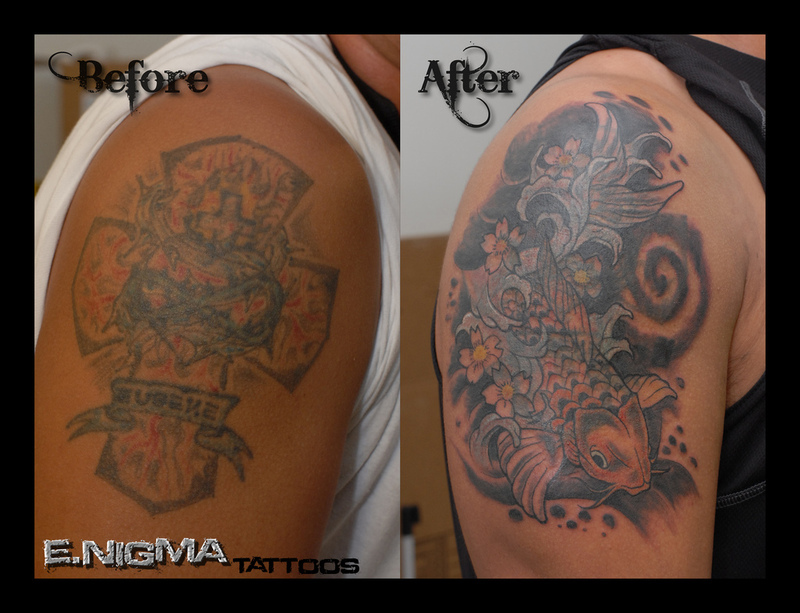 Black Tattoo Cover Up Tattoo Covers