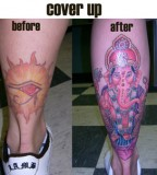 Best Simply Cover Up Tattoos Before and After