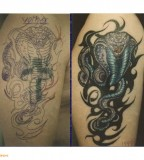 Conceal and Cover Up Tattoos Before And After