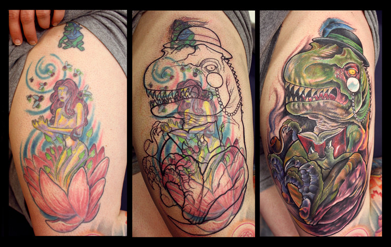 This Is The Best Tattoo Cover Up Ever Imgur