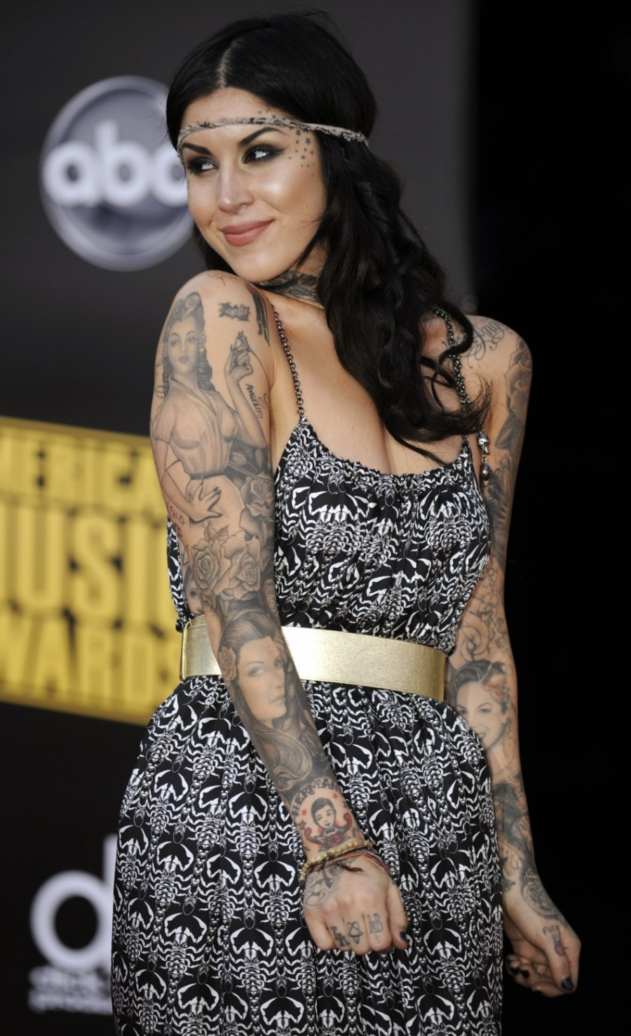 Kat Von D's High Voltage Tattoo