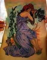 Megan Hoogland Female Tattoo