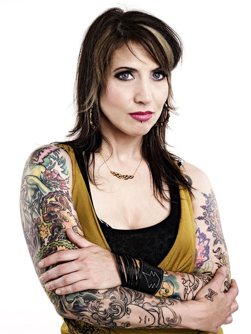 Hannah Aitchison Sexiest Tattoo