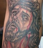 Top Female Jesus Tattoo
