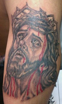 Top Female Jesus Tattoo
