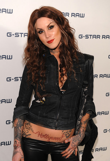 Kat Von D's Style and Beautiful Tattoo Design
