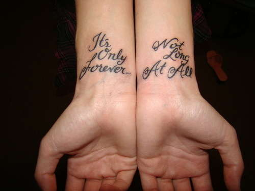 Best Tattoo Quotes For Hands Tattoomagz Tattoo Designs Ink