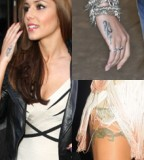 Cheryl Cole with Bikini Showing Tattoo Inspiration for Women