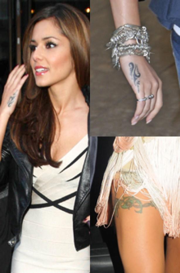 Cheryl Cole with Bikini Showing Tattoo Inspiration for Women