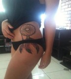 Dream Catcher Bikini Tattoos Design for Women