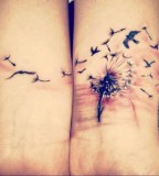 Amazing Art Birds Wrist Tattoos