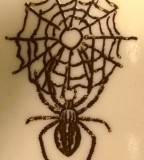Black Widow Spider Spider Webs Tattoo Design