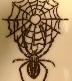 Black Widow Spider Spider Webs Tattoo Design