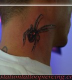 Images Black Widow Spider Stock Illustration Tattoo