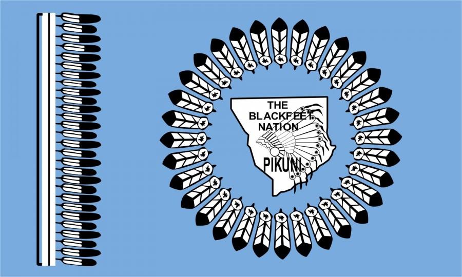 Blackfoot Indian Tribe Symbols Tattoo Reference Design