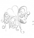 Bleeding Heart Flower Sketch Tattoo Designs