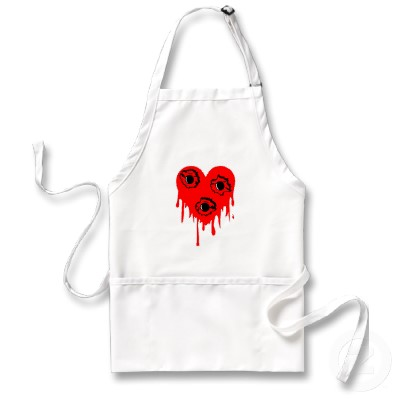 Bullet Hole Bleeding Heart Tattoo for Girl