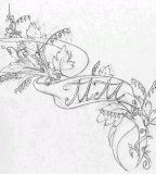 Cool Yuris Tattoo Sketch Designs for Women