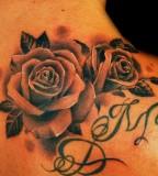 The Rose Queen Tattoo Design