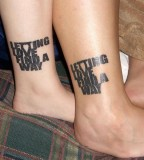 Boyfriend Girlfriend Relationship Matching Tattoos