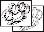 Arm Dagger Tattoo Design Ideas