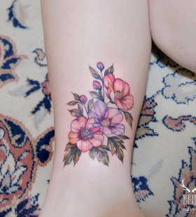 breathtaking-flower-tattoo