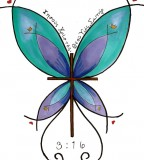 Bright Butterfly Cross Tattoo Design by Appleautumn on Deviantart