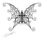 Butterfly Cross Combo Tattoo Skecth by Streetz86 on Deviantart