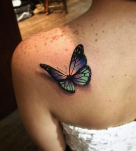 butterfly-shoulder-tattoo