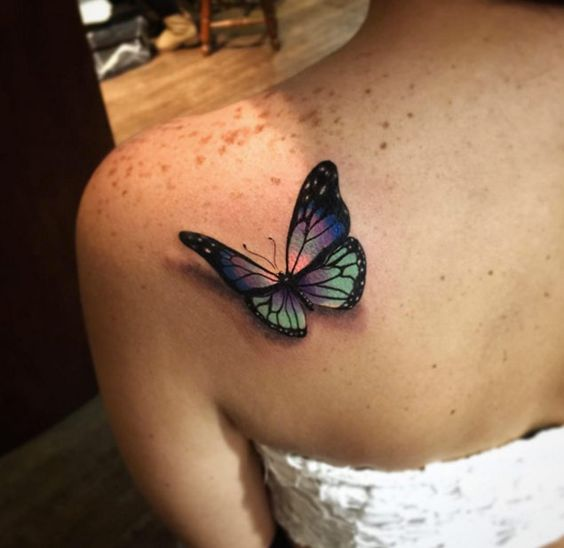 butterfly-shoulder-tattoo