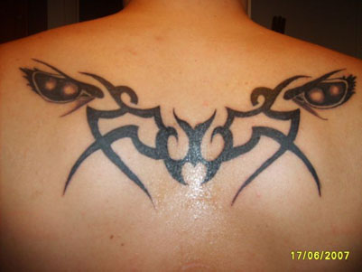 Awesome Tribal Tattoo Ideas for Upper Back